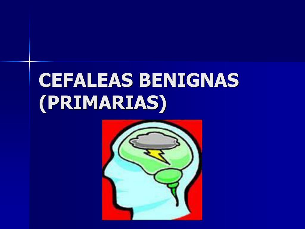 cefaleas benignas primarias l.
