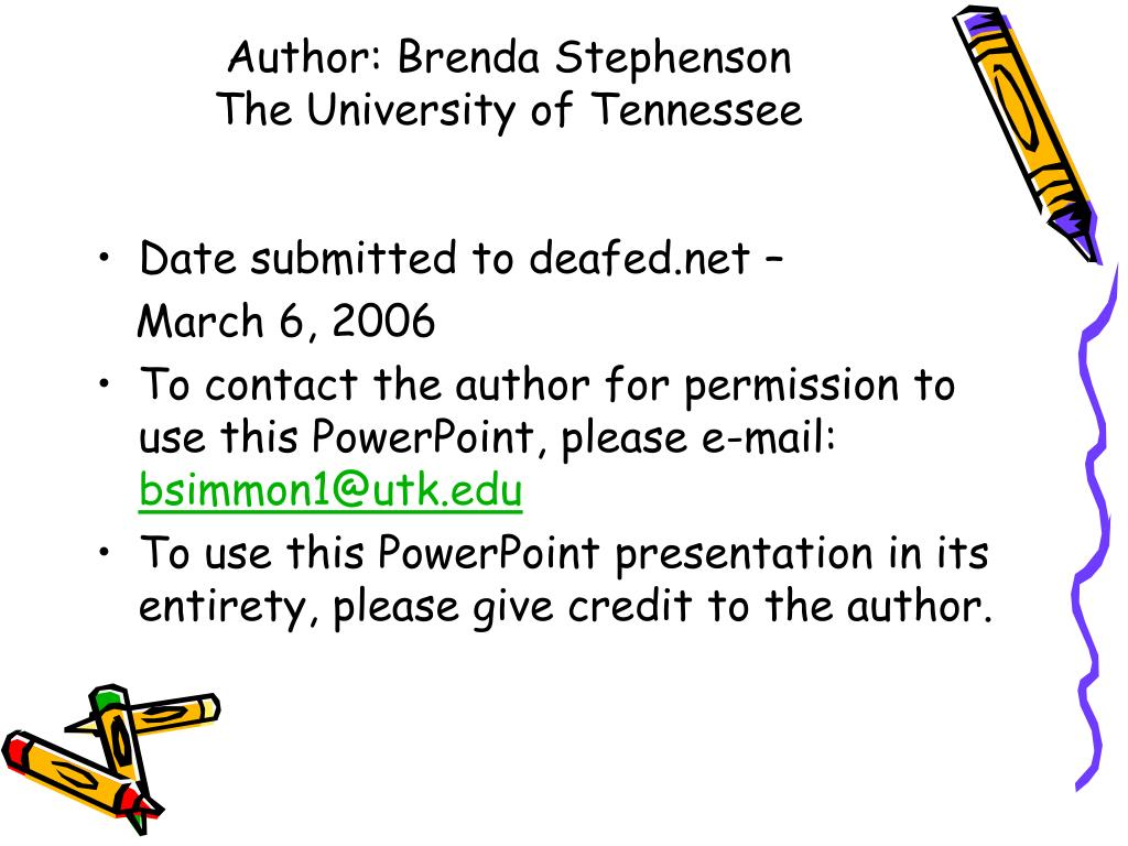 author brenda stephenson the university of tennessee l.