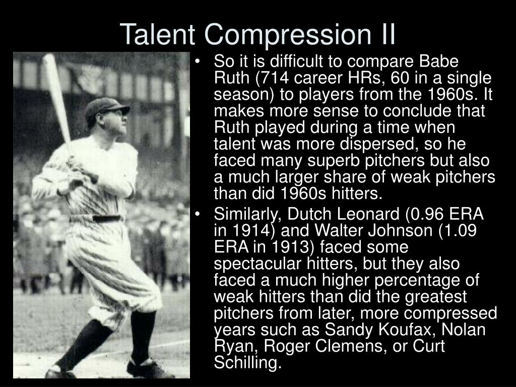 Talent Compression II