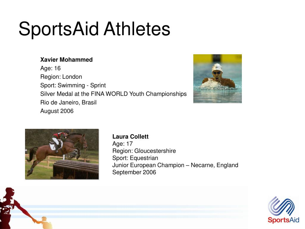 SportsAid Athletes