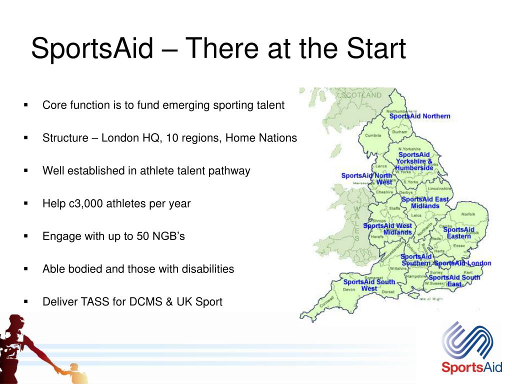 SportsAid – There at the Start