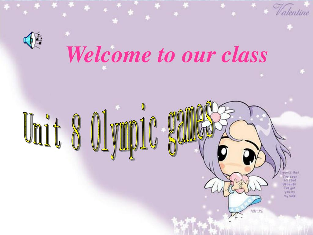 welcome to our class l.