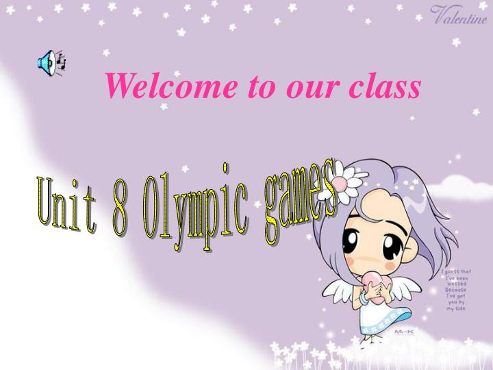welcome to our class n.