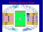 bulldog seating chart