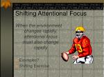 shifting attentional focus