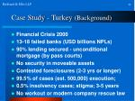 case study turkey background