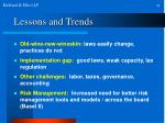 lessons and trends24