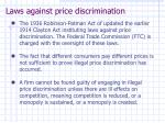 laws against price discrimination