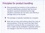 principles for product bundling