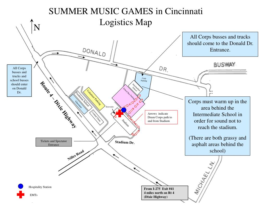 SUMMER MUSIC GAMES in Cincinnati
