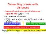 connecting breaks with distances14