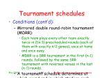 tournament schedules6