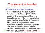 tournament schedules9