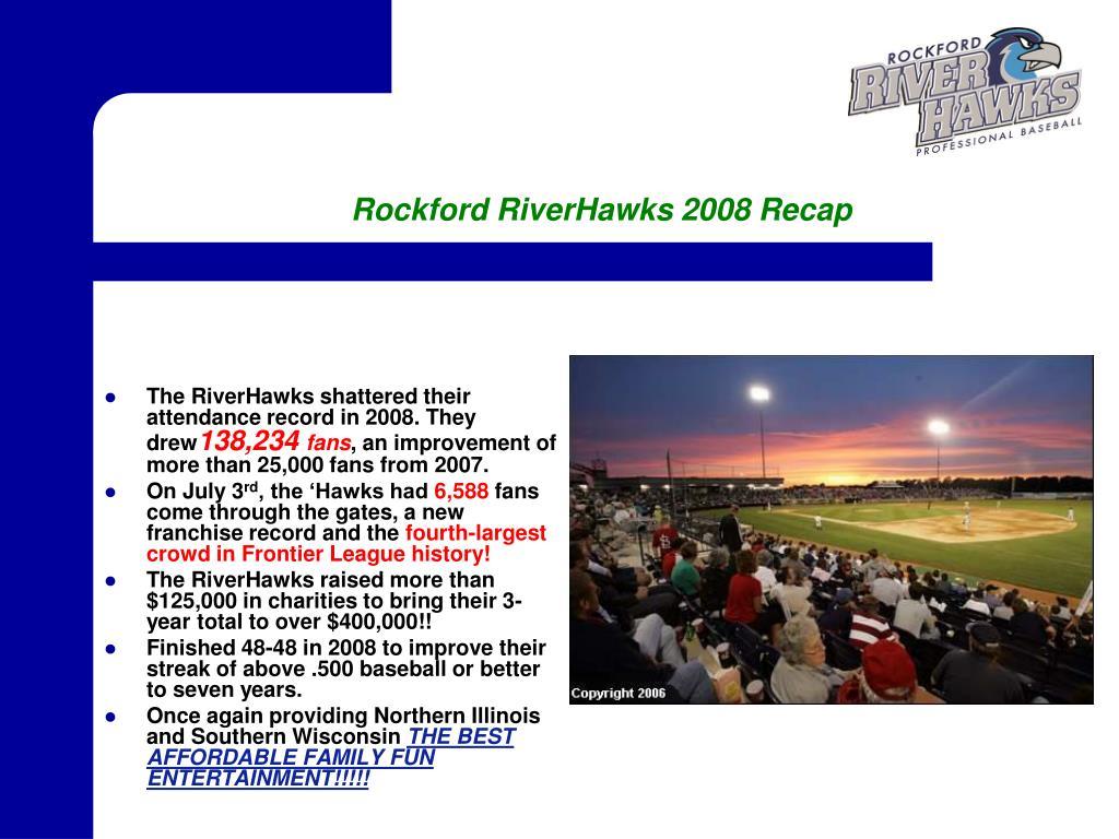 rockford riverhawks 2008 recap l.
