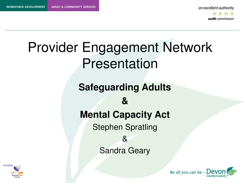 provider engagement network presentation l.