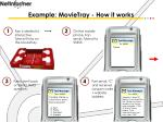 example movietray how it works