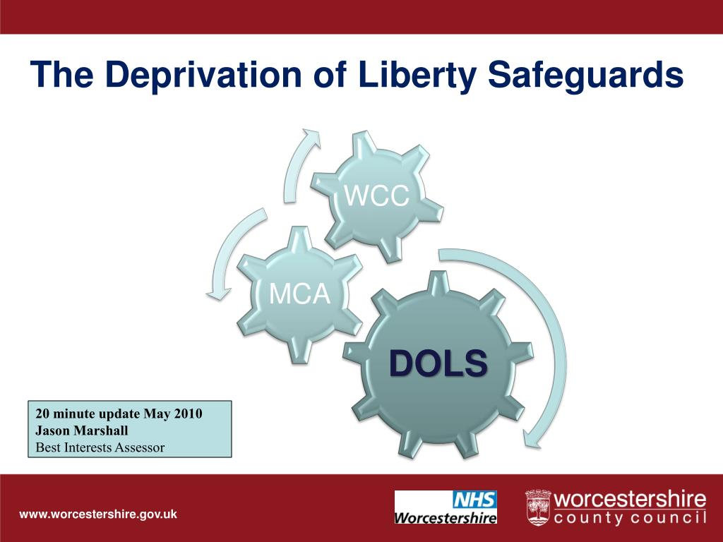 the deprivation of liberty safeguards l.
