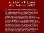 arrachion of phigaleia victor pankration 564 bce