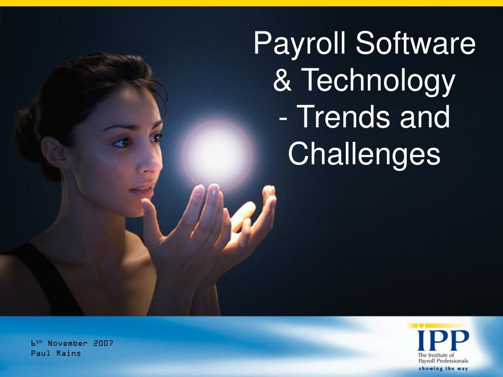 payroll software technology trends and challenges l.