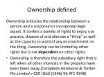 ownership defined9
