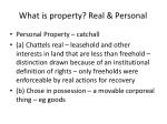 what is property real personal4