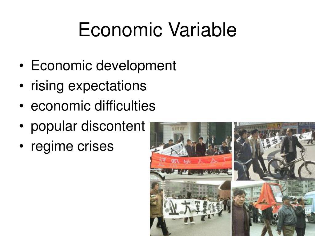 Economic Variable