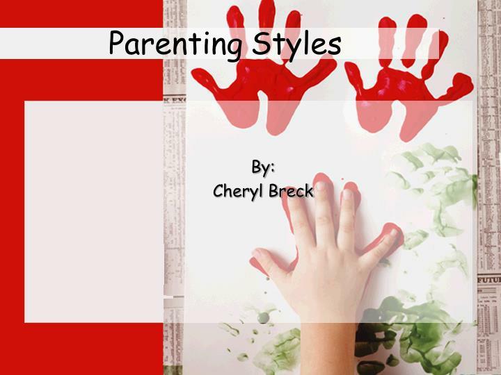 parenting styles n.