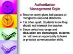 authoritarian management style5