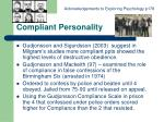 compliant personality12