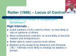 rotter 1966 locus of control15