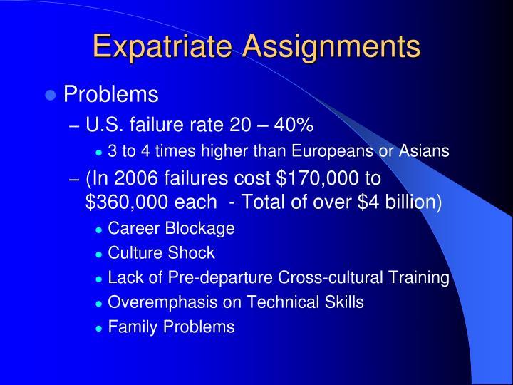 Expatriate Assignments