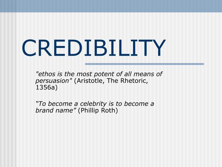 credibility n.