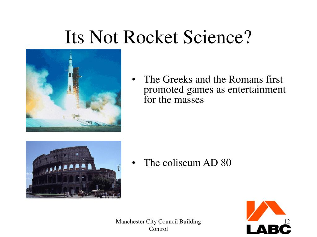 Its Not Rocket Science?
