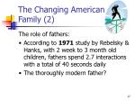 the changing american family 2