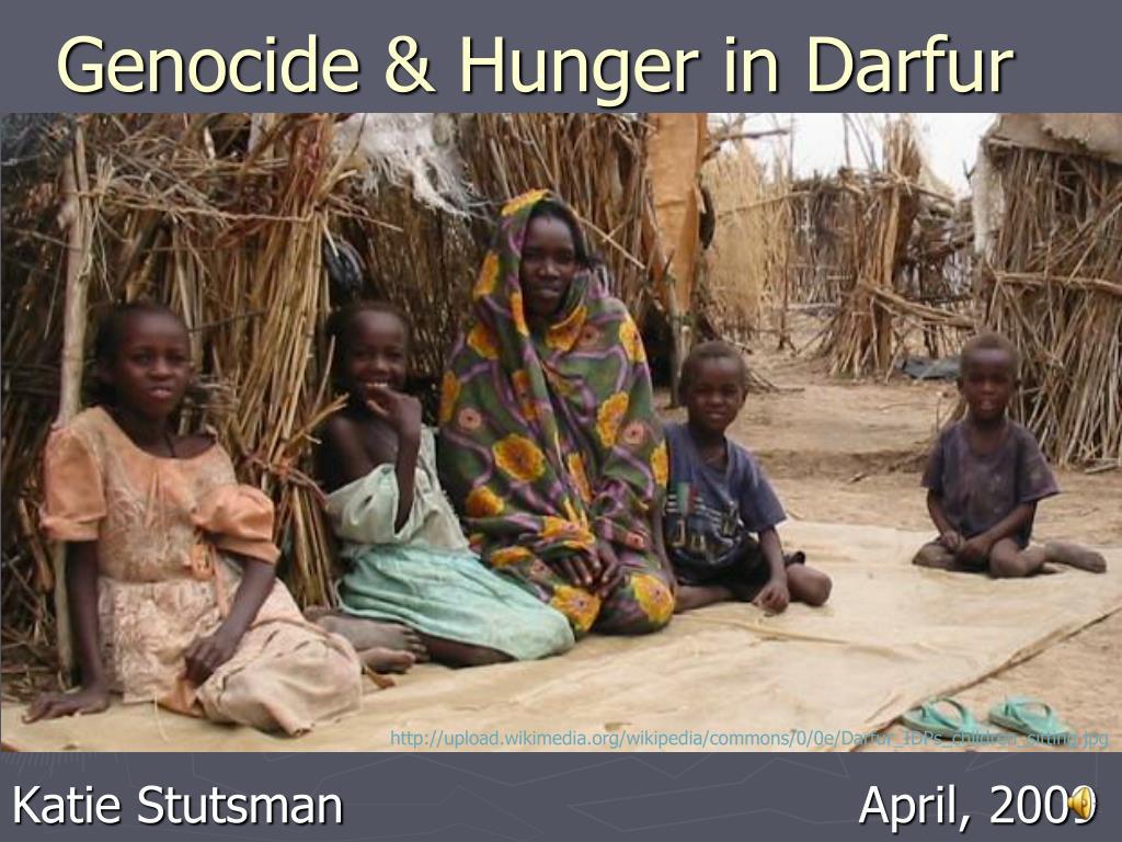 genocide hunger in darfur l.