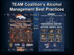 team coalition s alcohol management best practices26