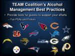 team coalition s alcohol management best practices28