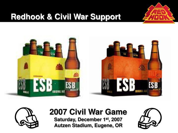 Redhook civil war support