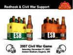 redhook civil war support