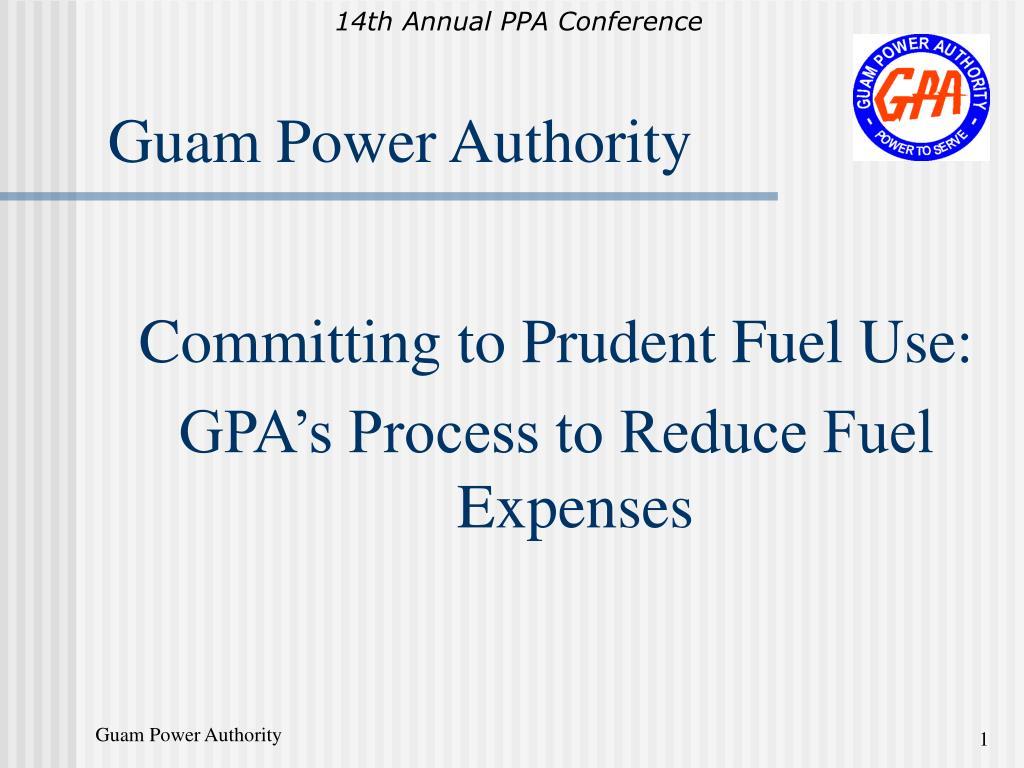 guam power authority l.