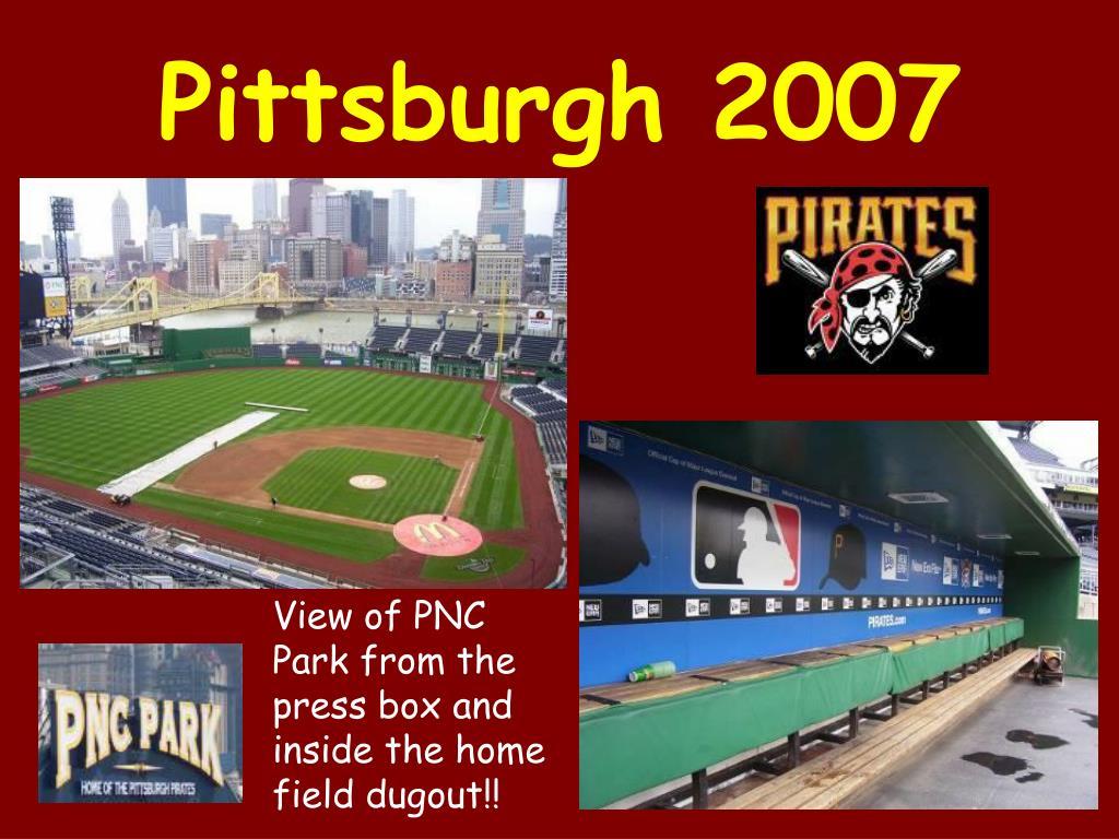 Pittsburgh 2007