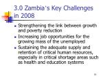 3 0 zambia s key challenges in 2008