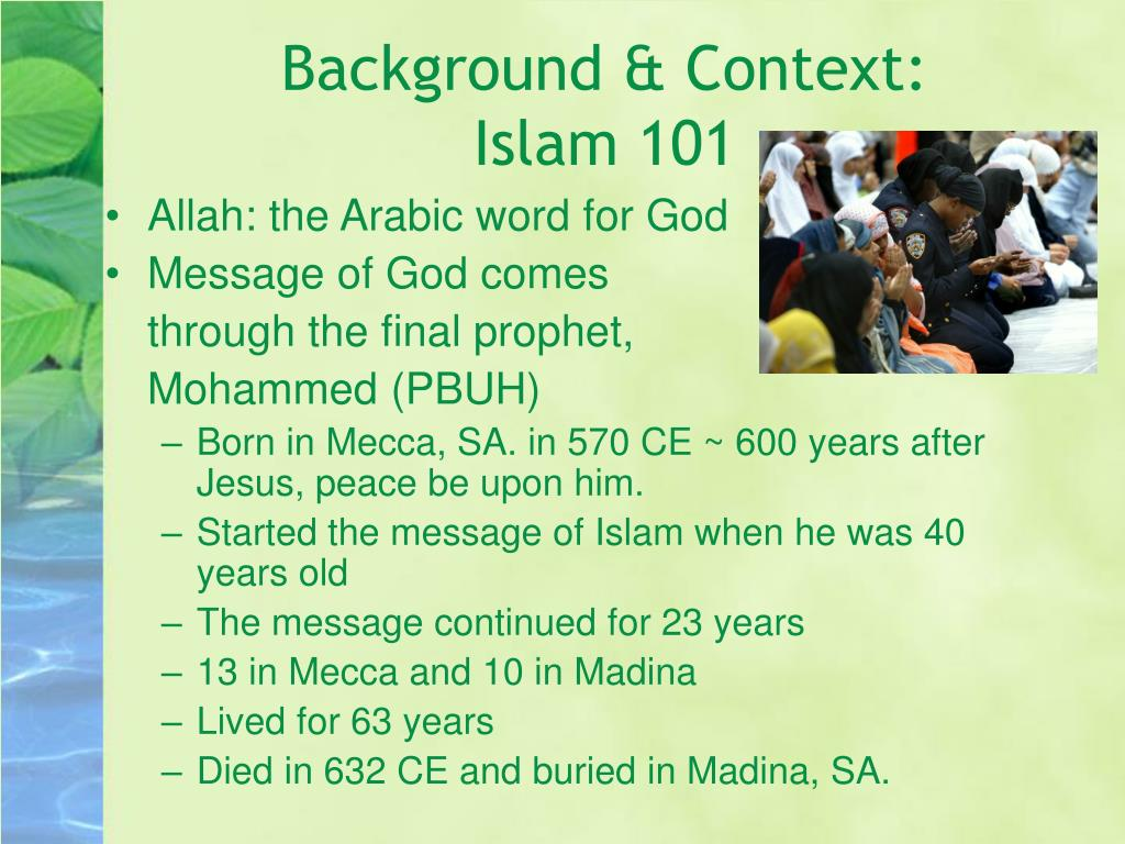 Background & Context: