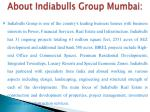 about indiabulls group mumbai