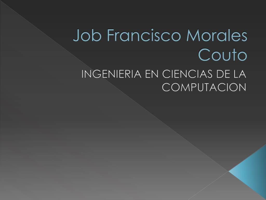 job francisco morales couto l.