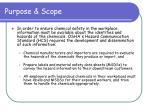 purpose scope