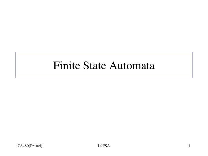 finite state automata n.