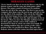 heraean games