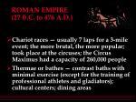 roman empire 27 b c to 476 a d25