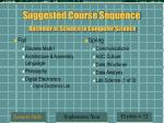 suggested course sequence bachelor of science in computer science7